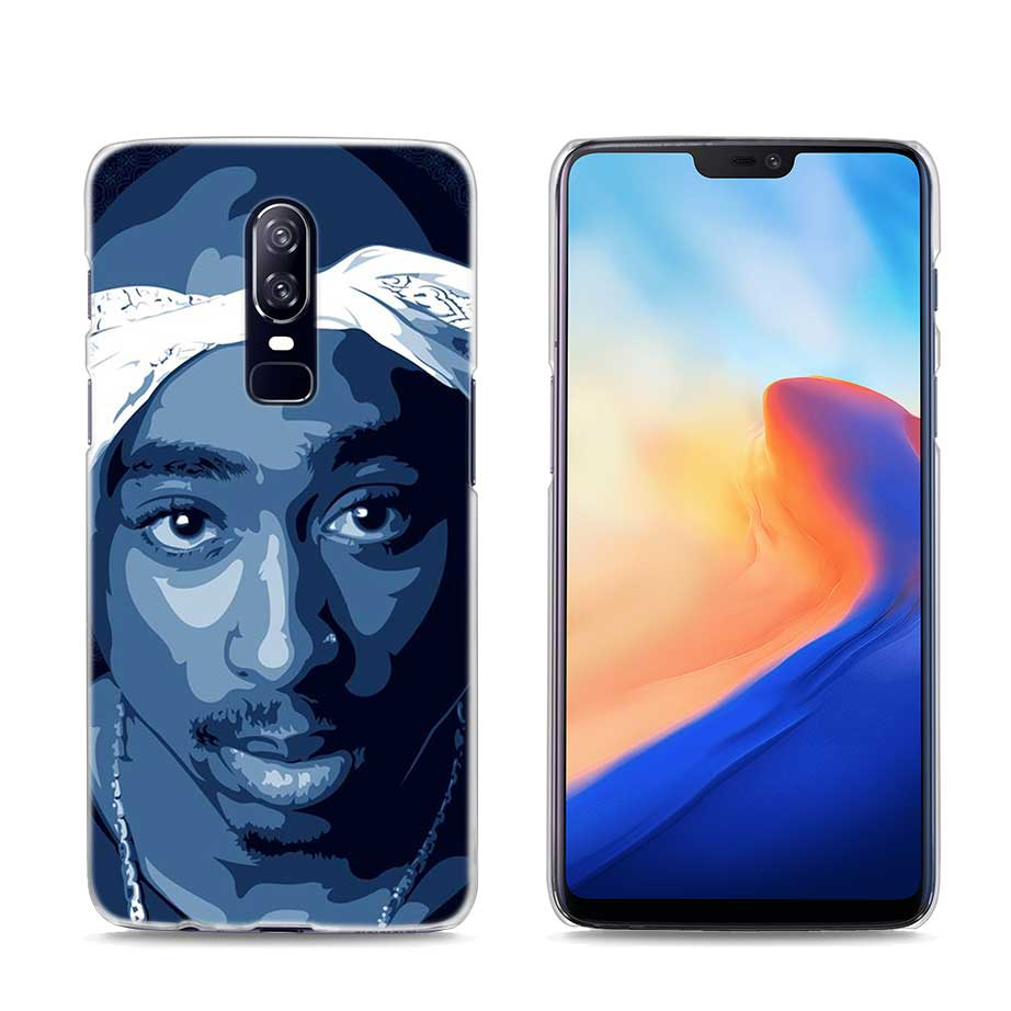 922x922 Transparent Hard Case For Oneplus Tupac Shakur Printing