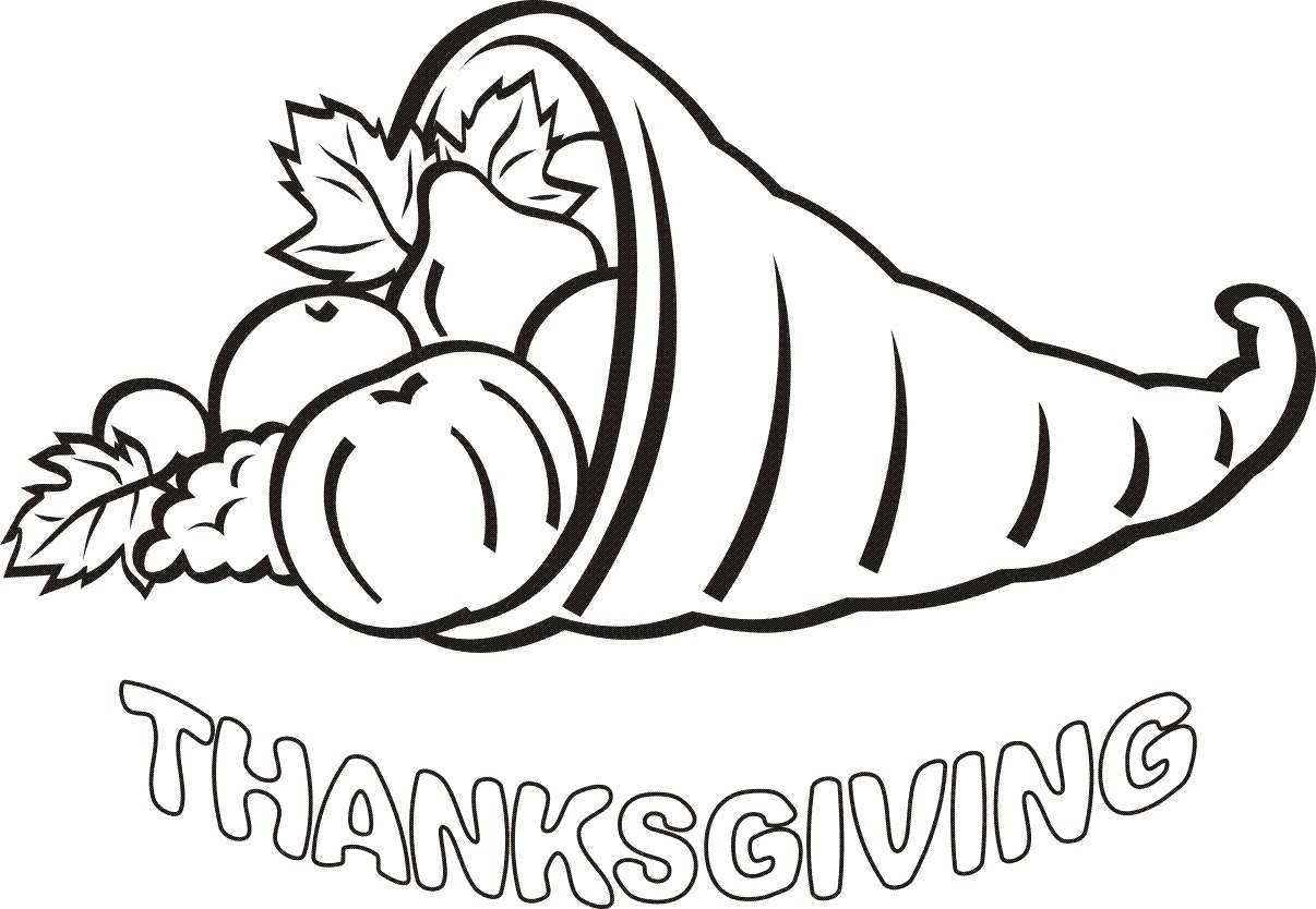 1206x834 love coloring pages of thanksgiving dinner turkey drawing to col