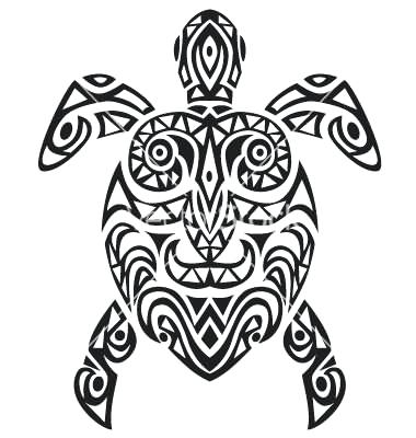 380x400 Turtle Drawing Outline Click The Image To Enlarge Sea Turtle