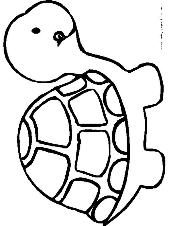 590x787 Cartoon Turtle Outline Cute Turtle Outline Nlli Coloring Cartoon