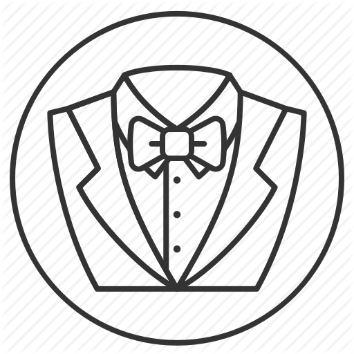 512x512 Groom, Groomsmen, Marriage, Tuxedo, Wedding Icon