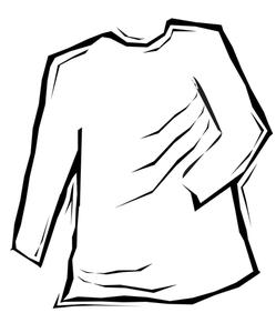 249x300 Tuxedo Shirt Clip Art