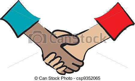 450x271 Two People Shaking Hands Drawing Clip Art