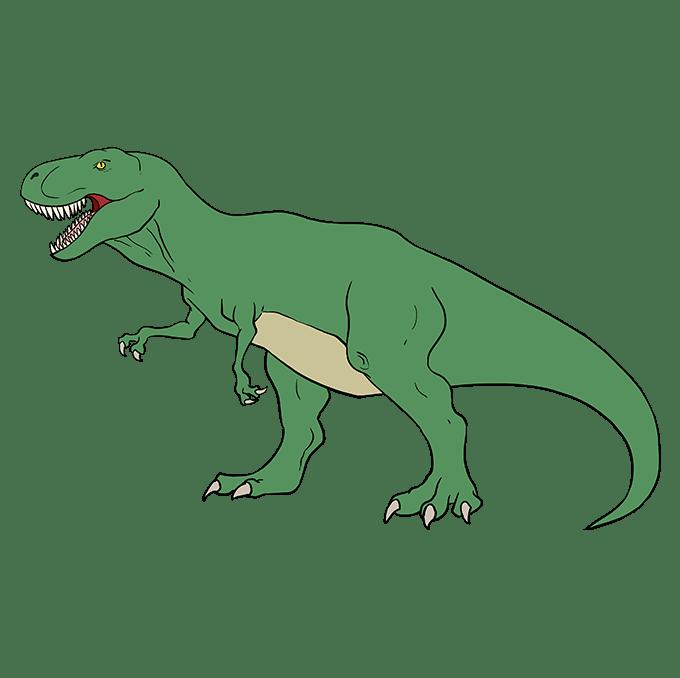 jurassic park t rex ausmalbild  malvorlagen