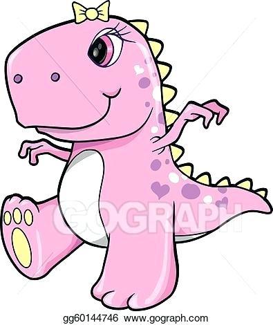 395x470 t rex dinosaur drawing cute pink girl dinosaur t dinosaur rex