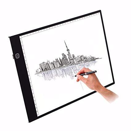 425x425 led copy board, m way super thin led drawing copy tracing