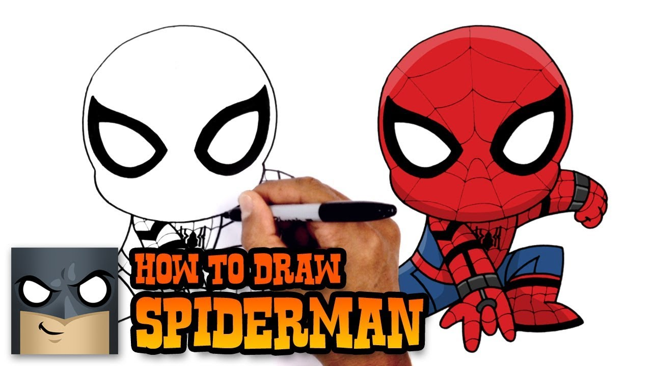 1280x720 How To Draw Spiderman Spiderman Homecoming