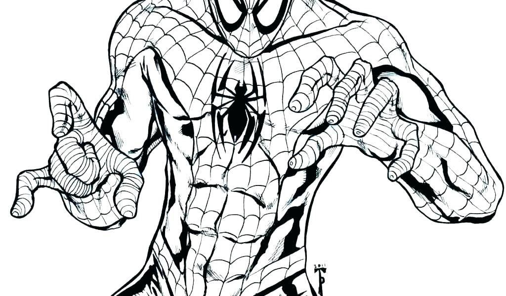 1024x600 Spiderman Homecoming Coloring Pages New Ultimate Spider Man