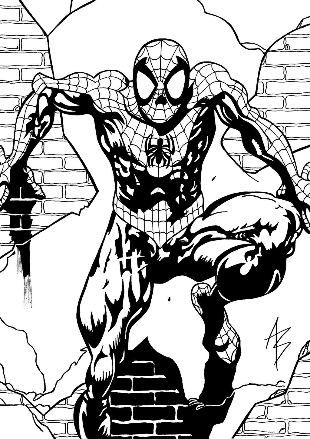1024x1449 Ultimate Spider Man Cover