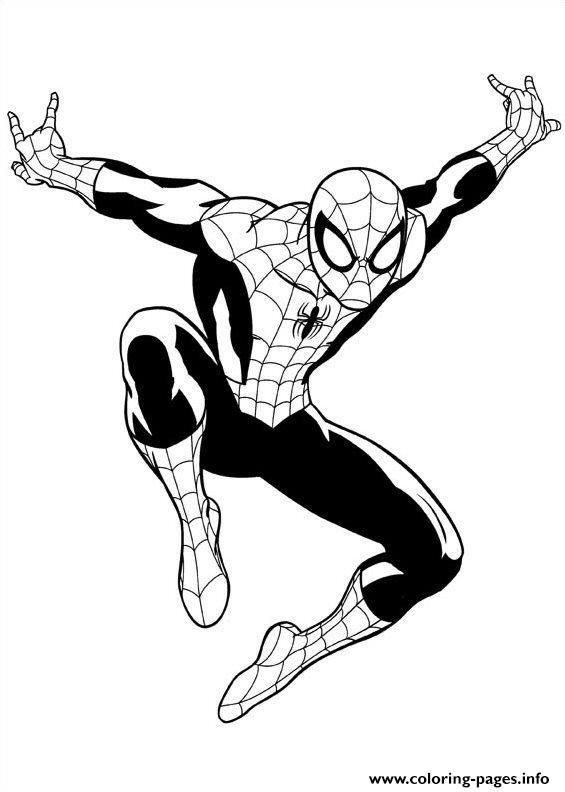565x792 Ultimate Spiderman Coloring Pages Homeschool