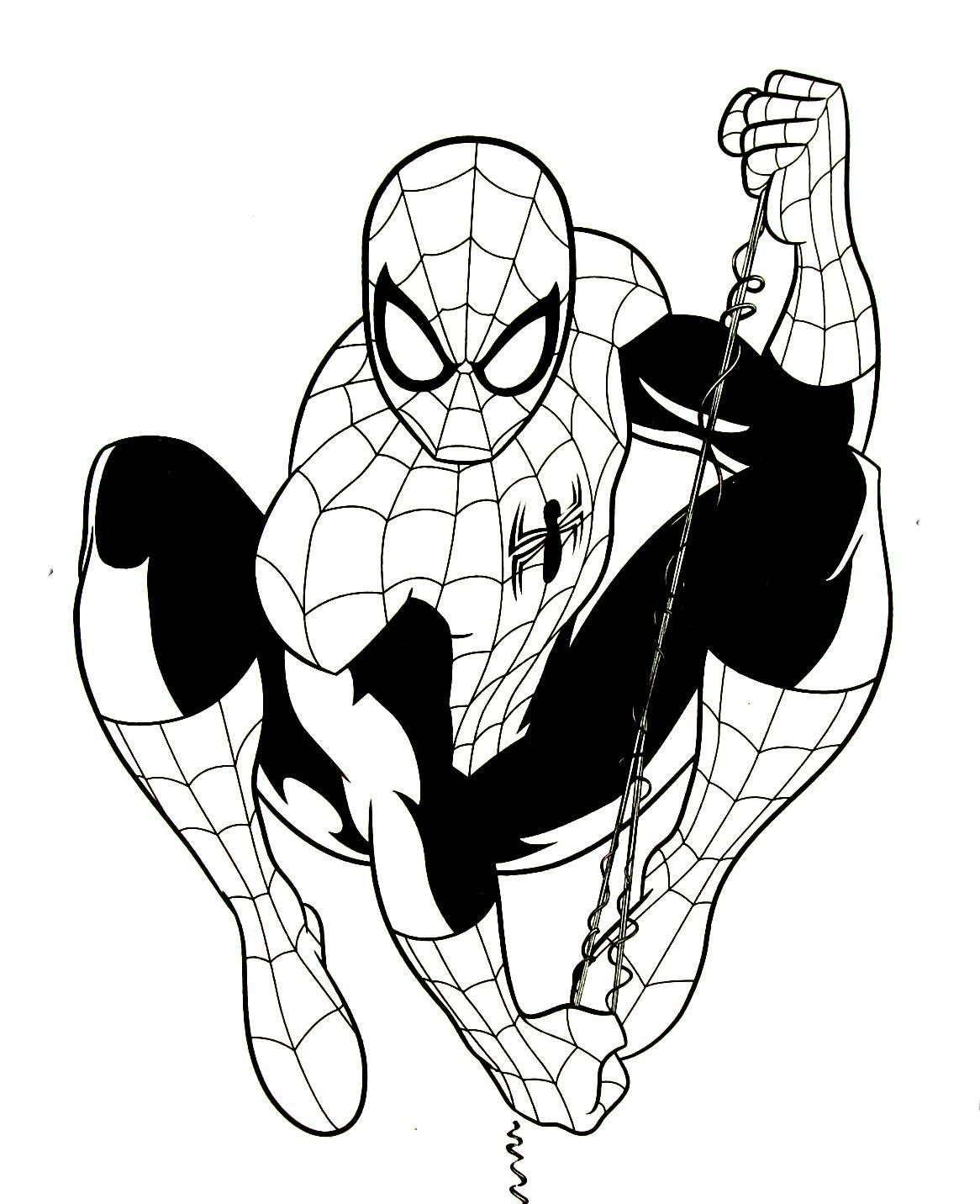 1166x1432 Ultimate Spiderman Coloring Books Pages Dr Odd