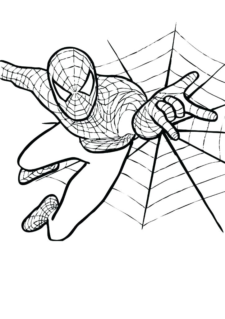 724x1024 Coloring Pages Of Ultimate Spider Man Free Printable Coloring