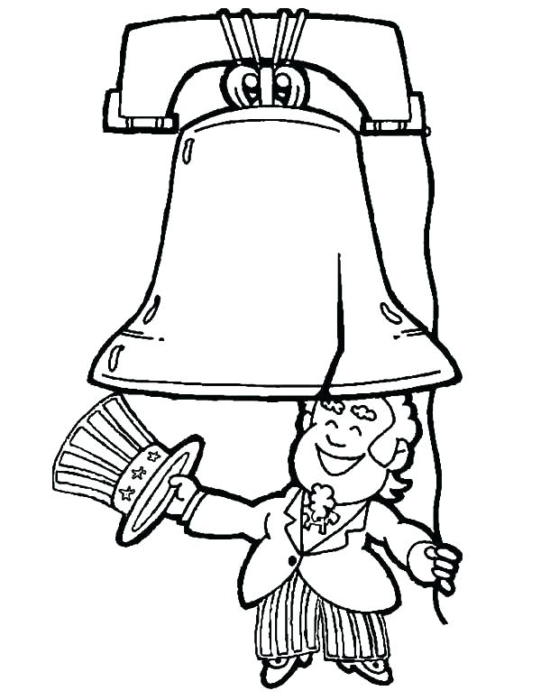 600x776 Uncle Sam Coloring Pages Free