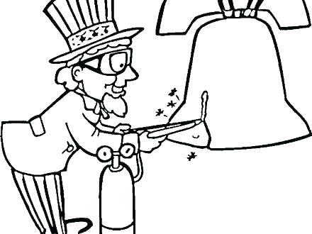 440x330 Uncle Sam Hat Coloring