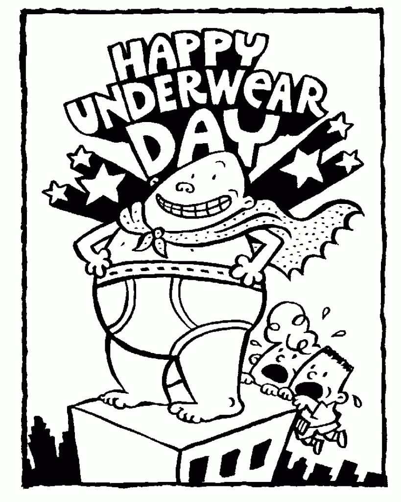 819x1024 printable captain underpants coloring pages free design captain