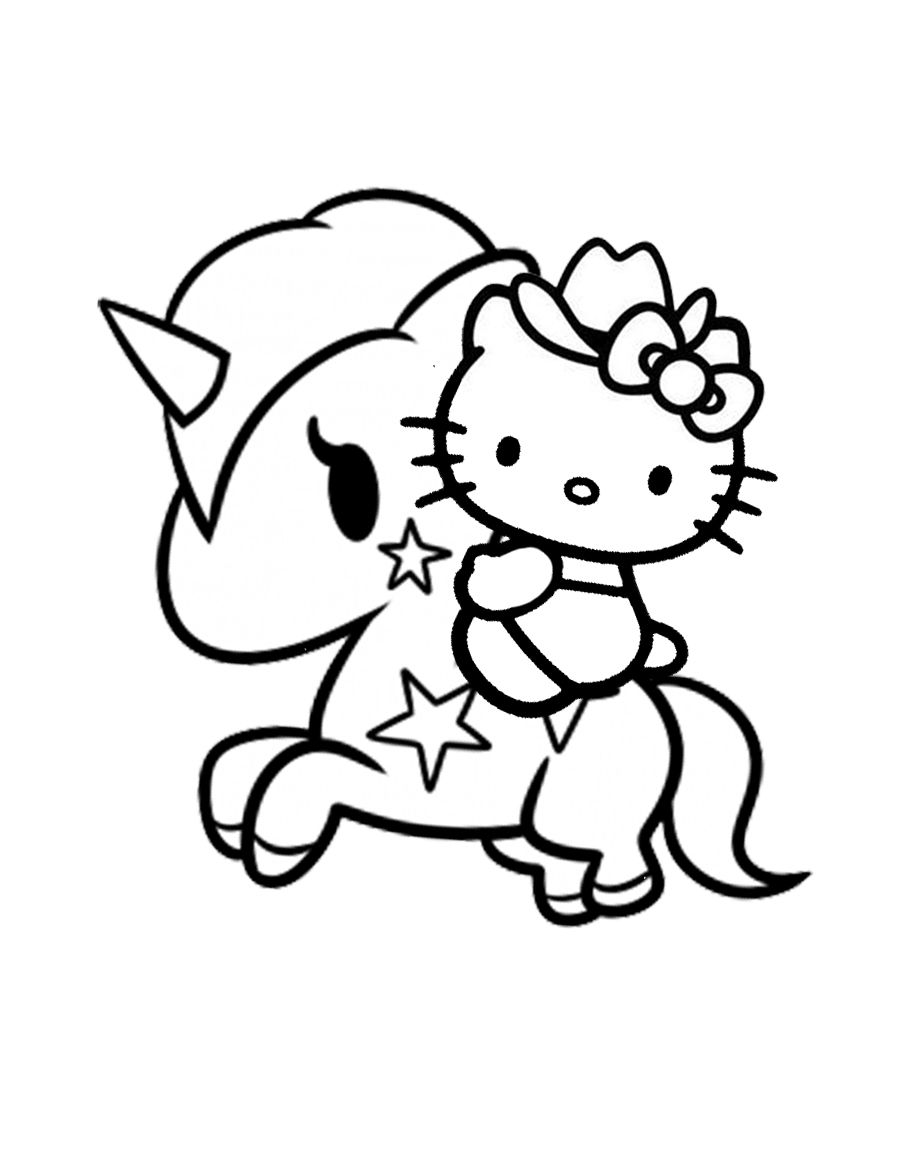 Unicorn Drawing
