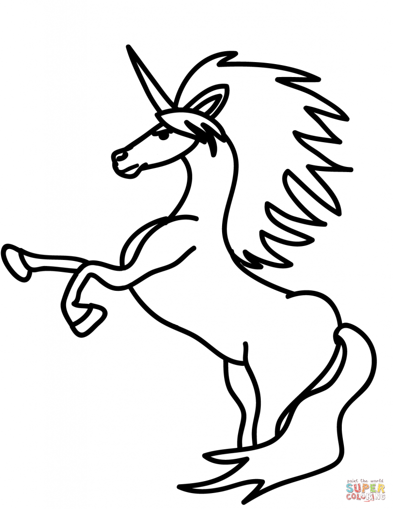 Unicorn Drawing Pictures Free Download Best Unicorn