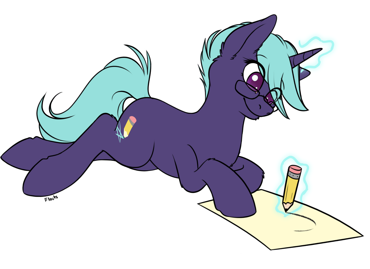 Unicorn Pencil Drawing