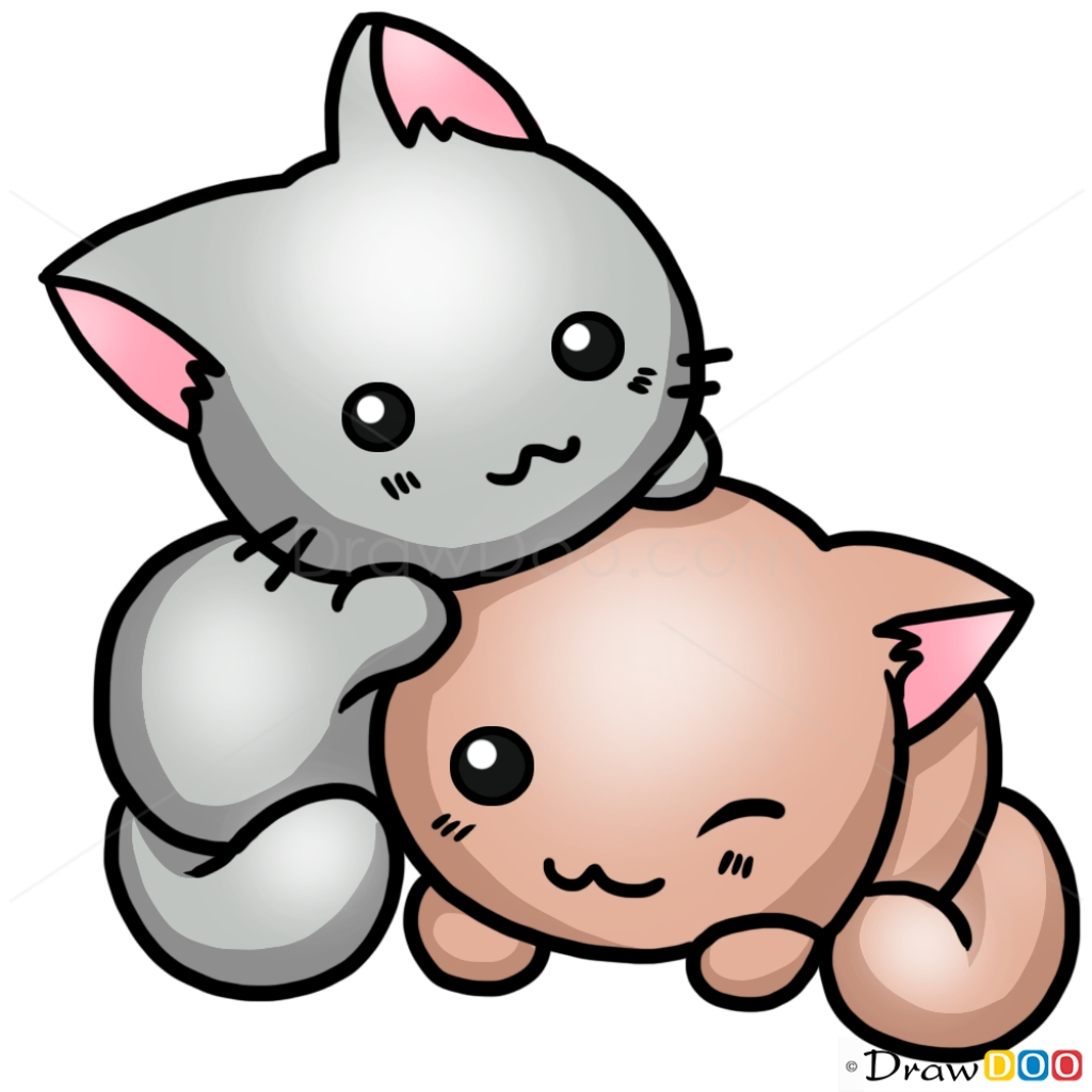 1024x1024 unique gallery drawing cute cats, drawings art gallery