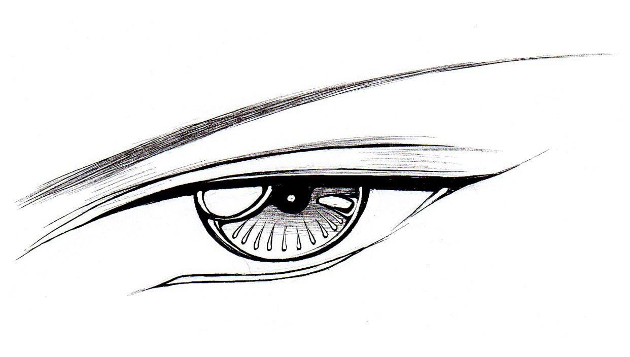 1242x704 How To Draw Male Eyes