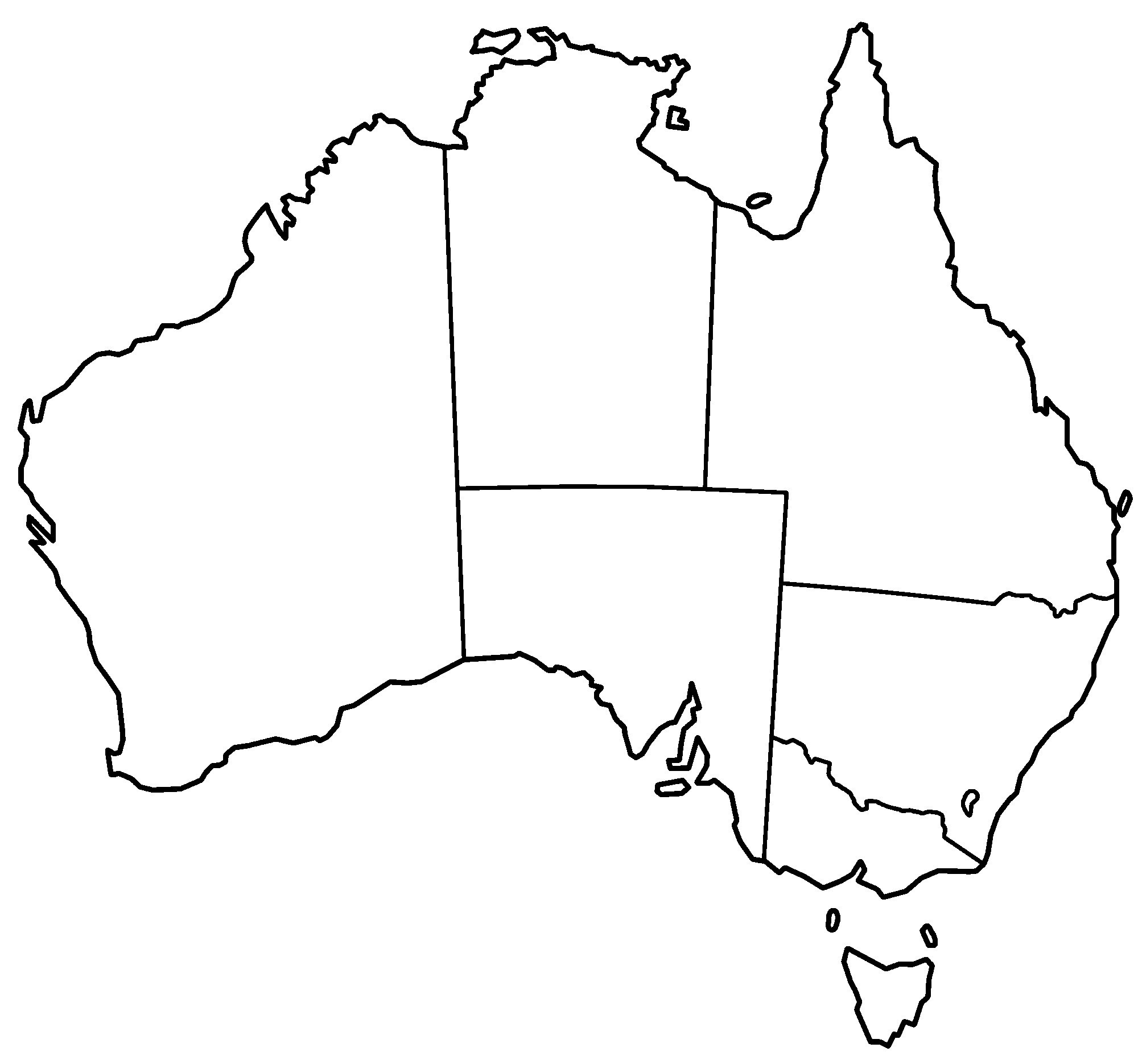 2000x1870 australia map black white unique map template unique black