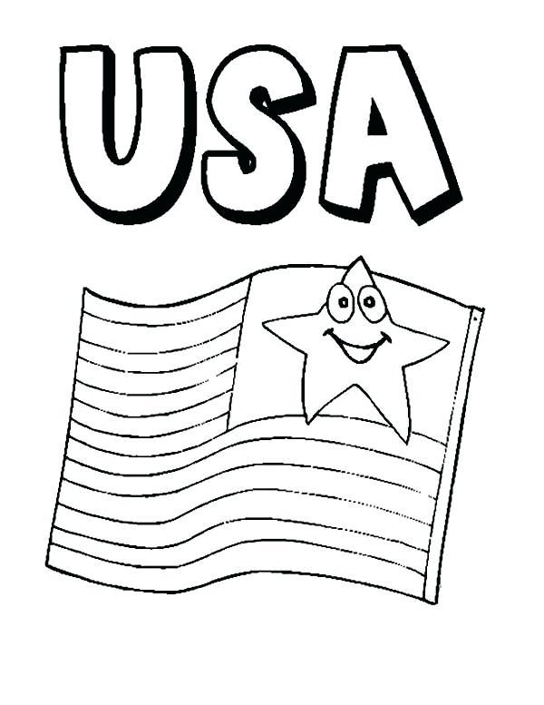 Usa Drawing