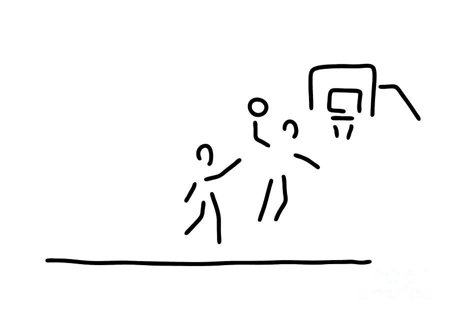 900x635 basketball usa basketball player drawing