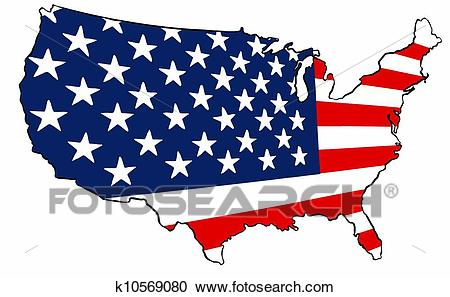 450x297 Map Of America Flag Download Them And Print