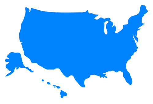 499x340 United States Victoria Blank Map Drawing Cc0