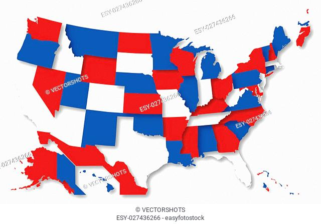640x448 Colorful Usa Map Stock Photos And Images Age Fotostock