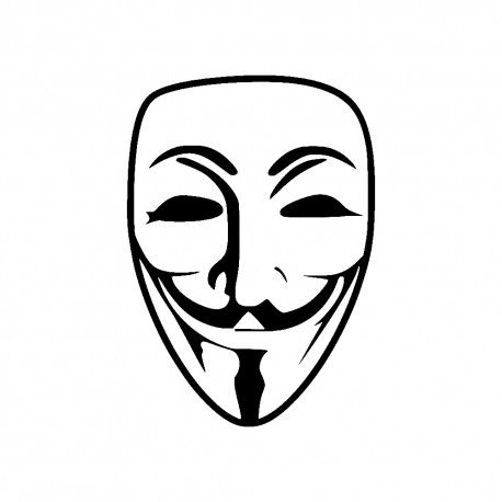 458x458 guy fawkes anonymous mask in tattoos anonymous mask, mask