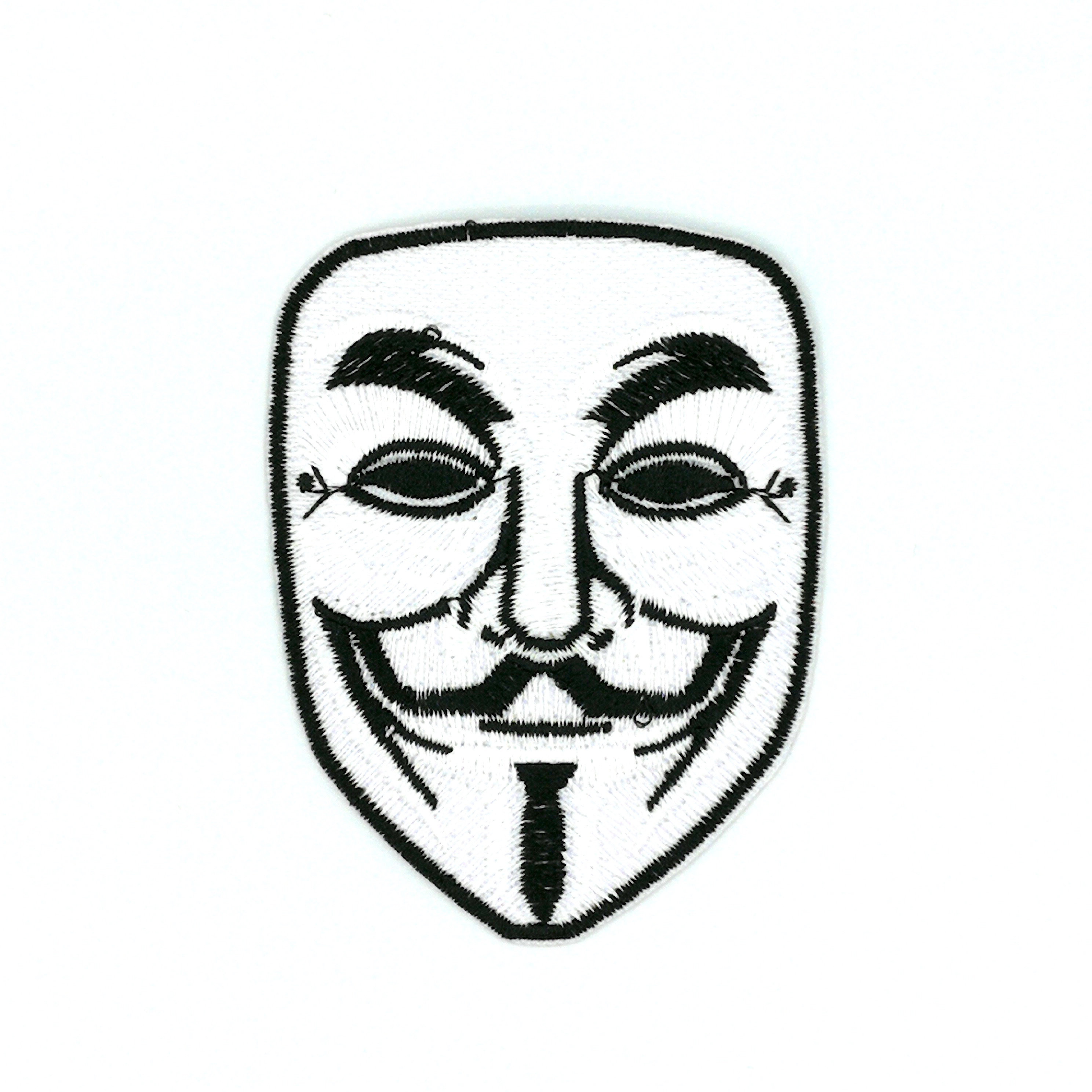 2976x2976 v for vendetta mask patch mask patch iron on patches etsy