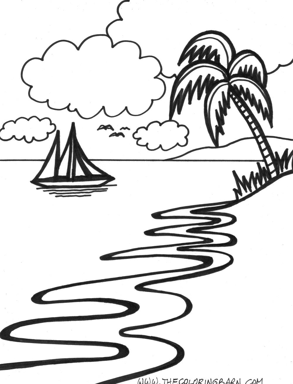 Vacation Drawing