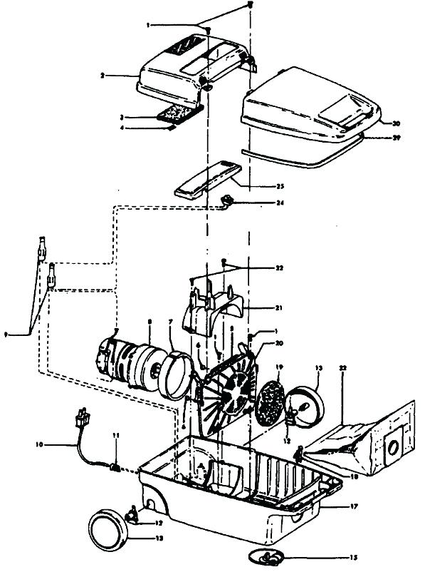 597x802 hoover windtunnel parts diagram hoover vacuum parts diagram hoover
