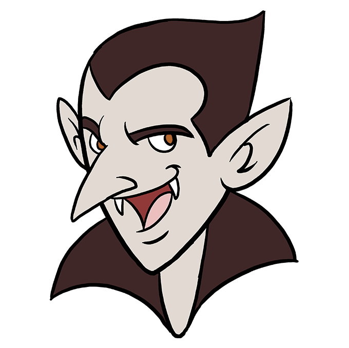 680x678 How To Draw A Vampire