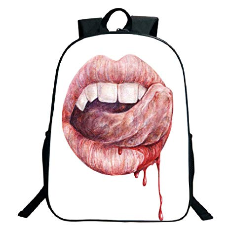 Vampire Mouth Drawing