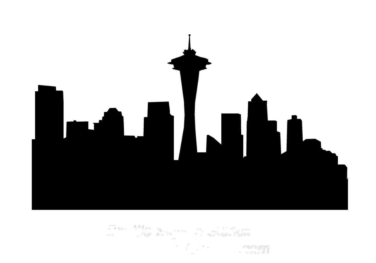 1500x1048 Seattle Drawing Free Download