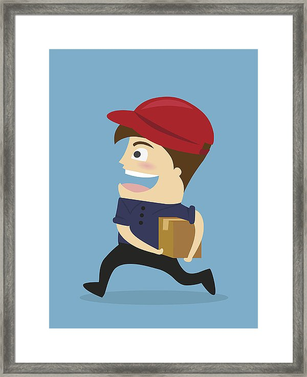 600x737 delivery man concept for online shop or e shop, delivery service