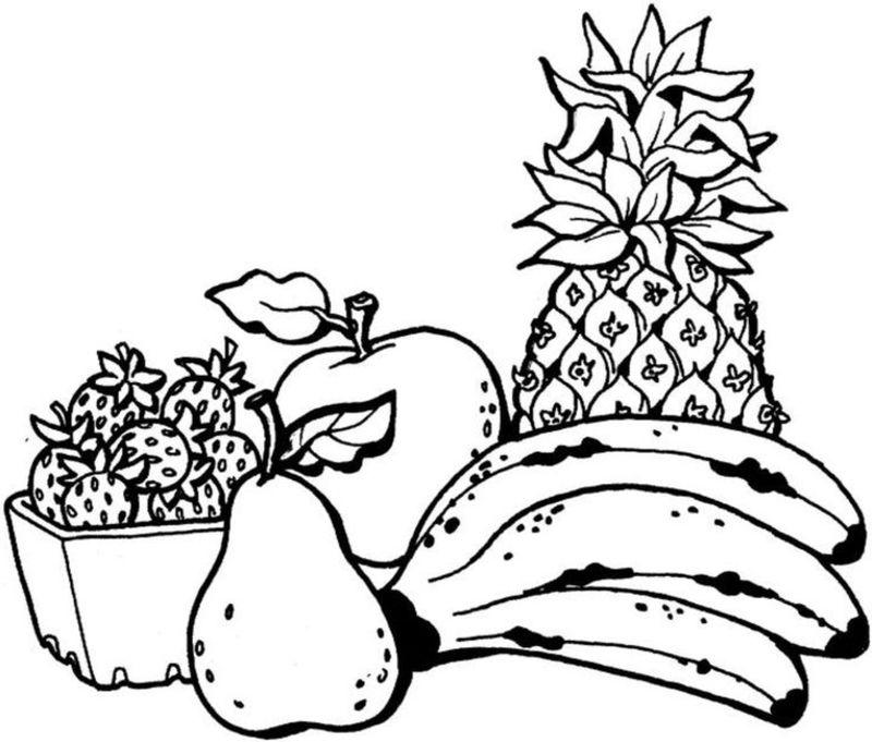 800x681 Vegetable Basket Line Drawing Interior