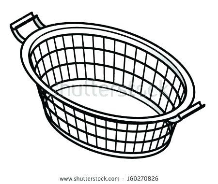 450x381 Basket Drawing