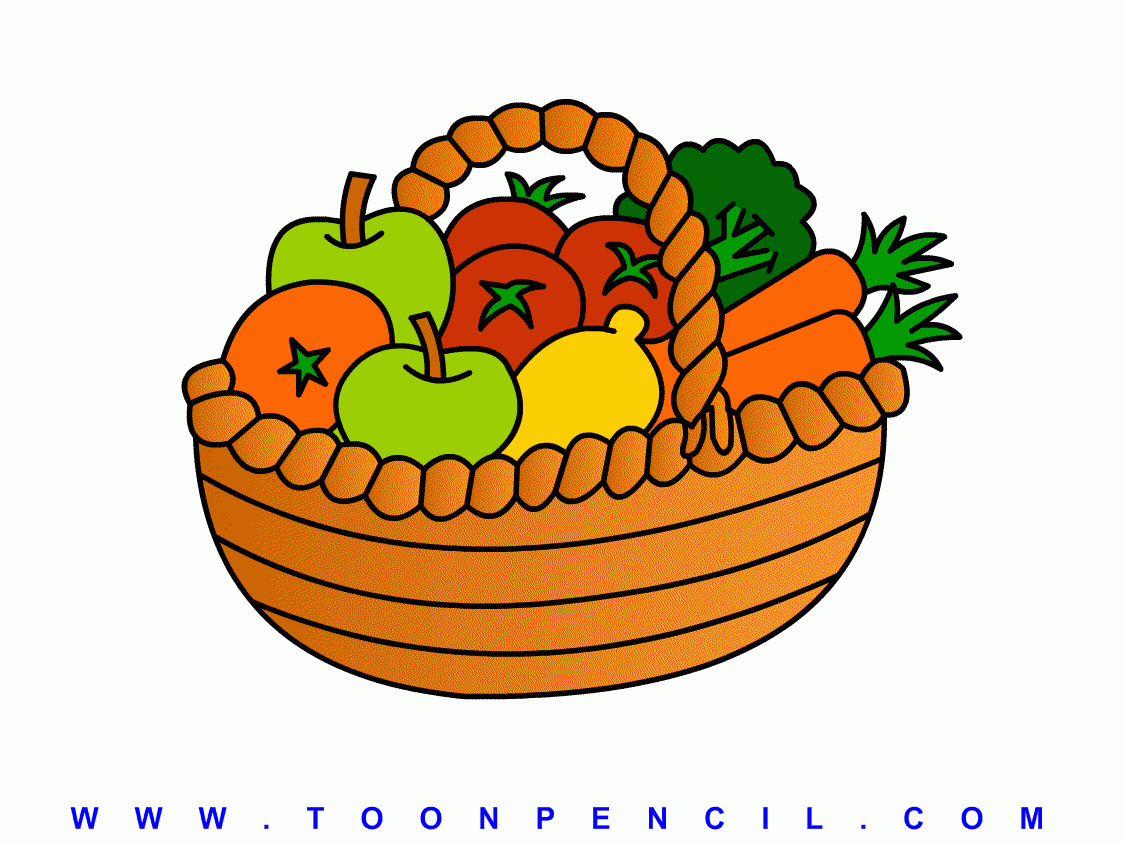 1125x843 Collection Of Free Basket Clipart Simple Amusement Clipart