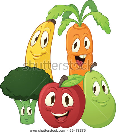 Cute Vegetable Drawings