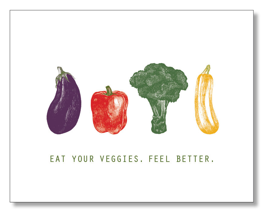863x713 feel better card get well soon card vegetable card adorable etsy