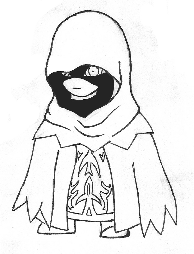 Veil Drawing
