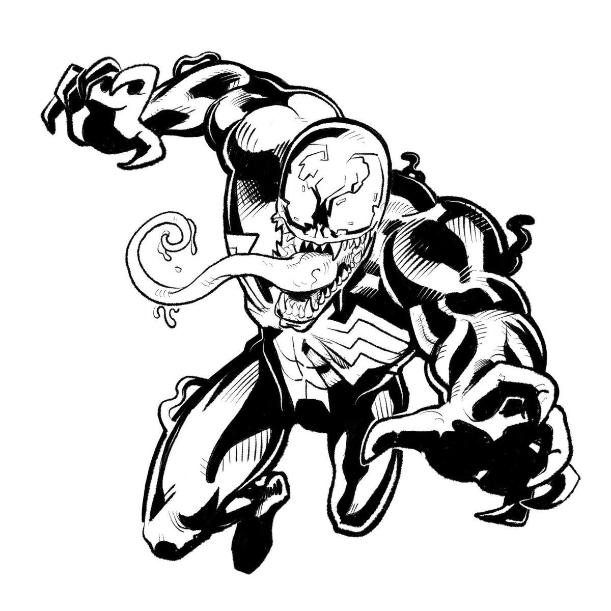 1200x1200 Dane Georges On Twitter Venom Is Always So Much Fun To Draw