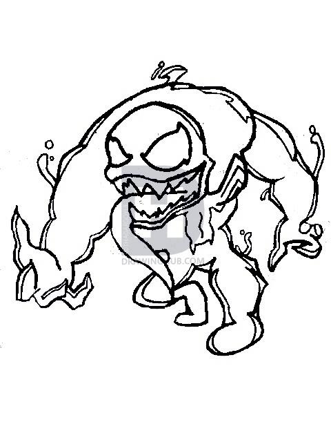 480x640 How To Draw Chibi Venom, Step