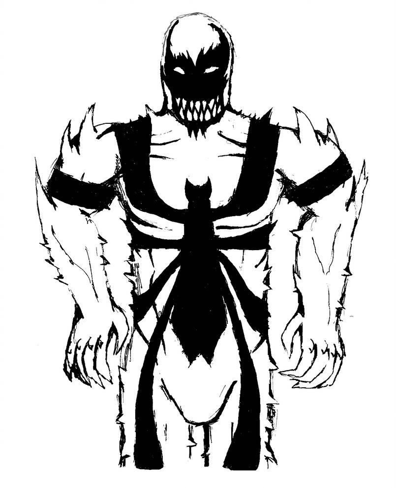 805x993 Anti Venom Gel Pen Drawing