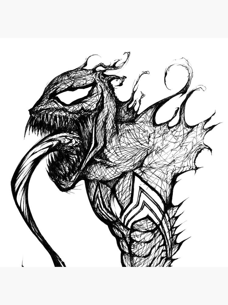 750x1000 Venom Speed Drawing Tote Bag