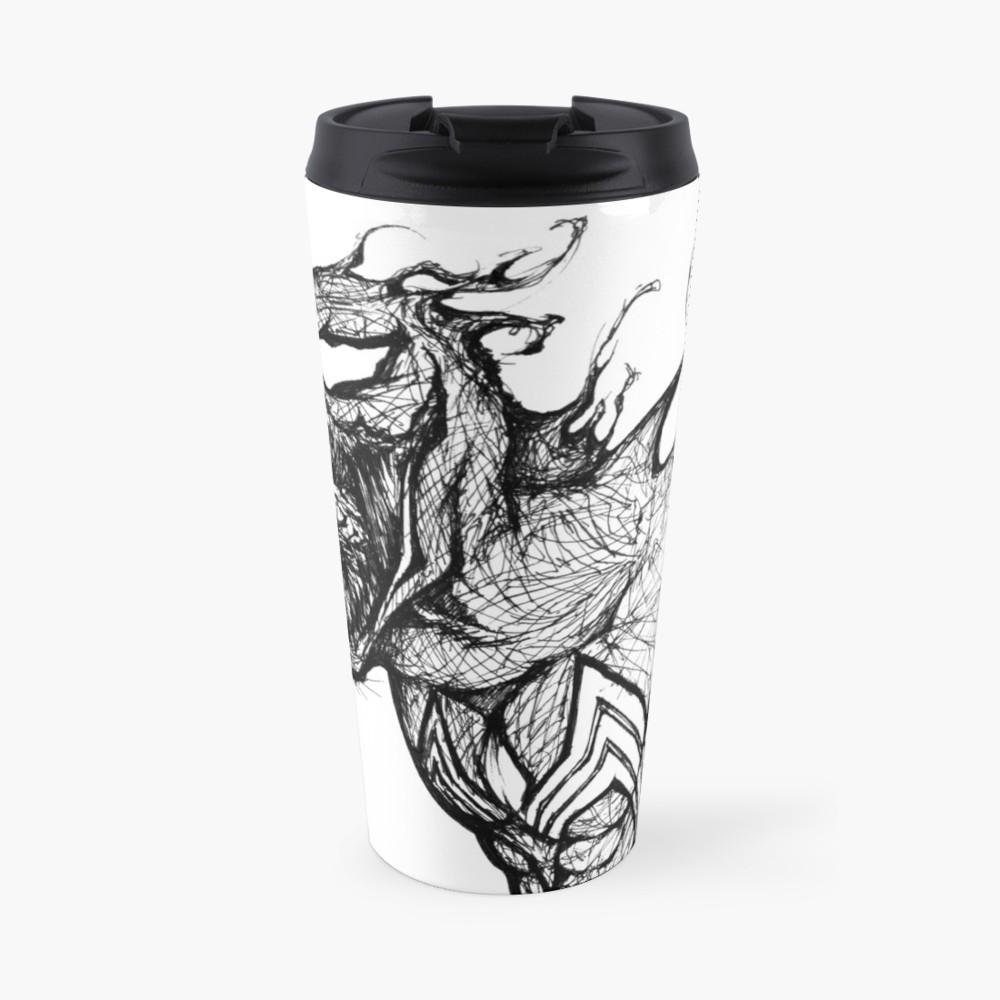 1000x1000 Venom Speed Drawing Travel Mug