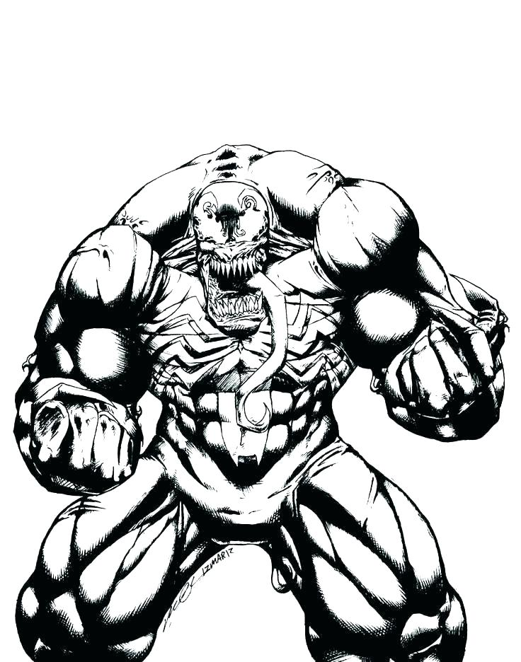 Venom Spiderman Drawing | Free download on ClipArtMag